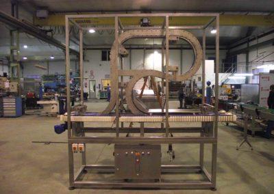Soplante en proceso de fabricación